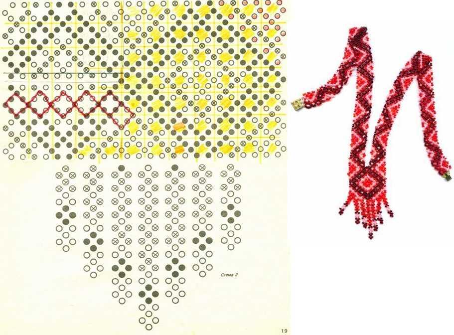 100 лучших идей: плетение из бисера на фото