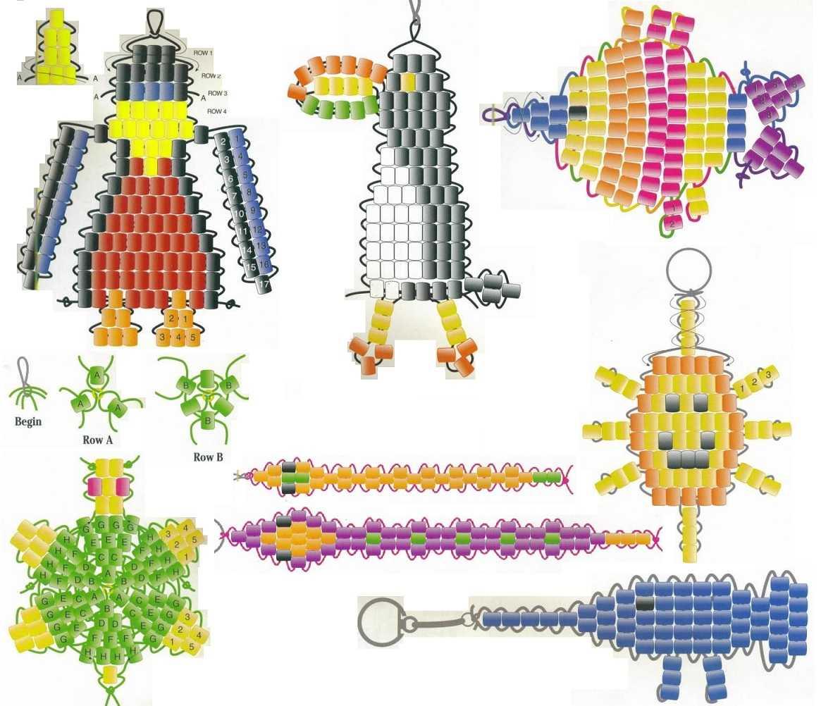 Схемы для вязания варежек на спицах 705