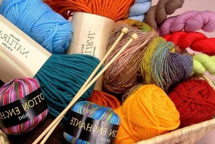 Виды пряжи для ручного вязания