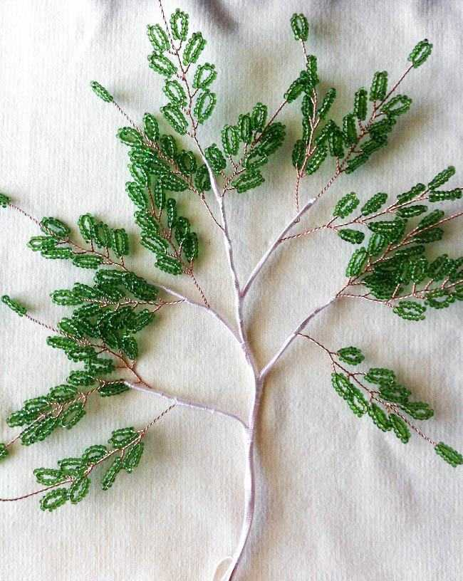 Сборка мастер класс деревья