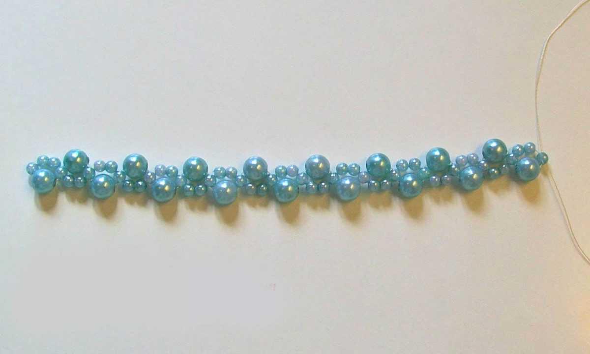 Плетения бисером браслетов для начинающих