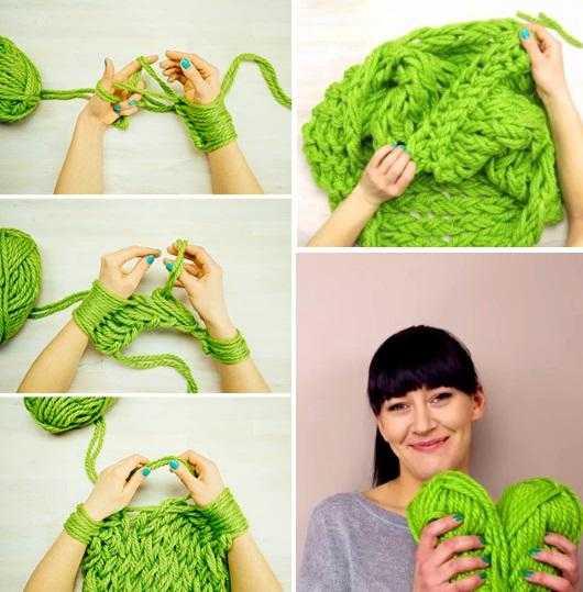 Сделать шарфик своими руками