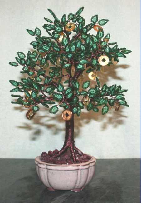 Денежное дерево своими руками видео фото 790