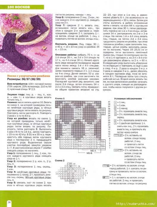 Схемы вязания шапок журналы