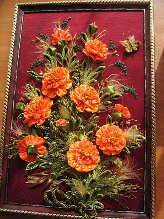 Канзаши своими руками для начинающих цветы фото 861