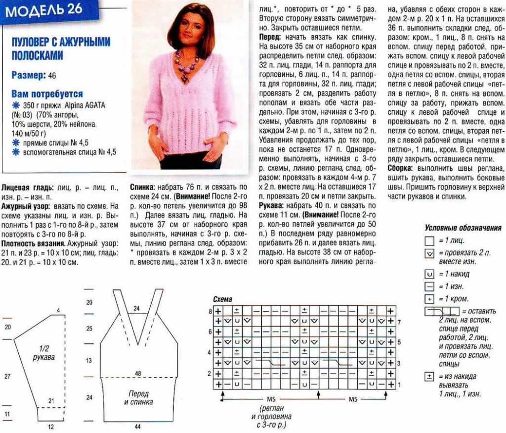 Кофточки » Вязание крючком и спицами схемы и модели