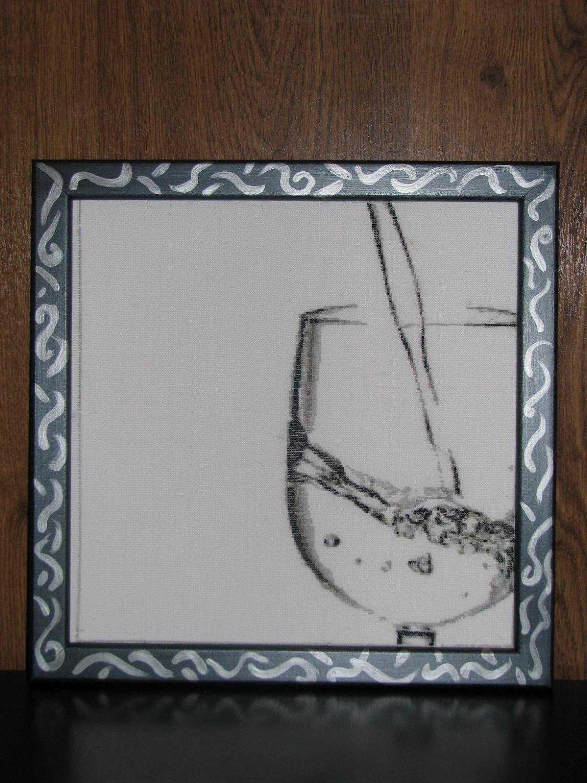 Вышивка по фото монохром как сделать