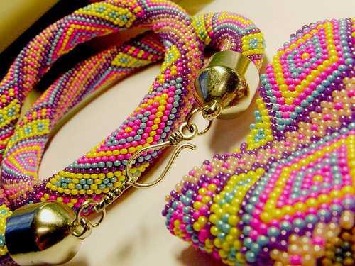 Уроки плетения мозаичным