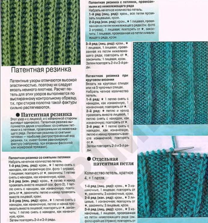 Вязание английская резинка спицами шарф научиться 81