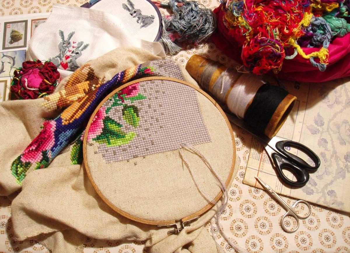 Рукоделие наборы для вышивки крестом в