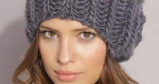 Вязание шапок с отворотом спицами видео уроки 103