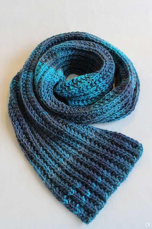 Шарф вязать спицами шарф резинкой