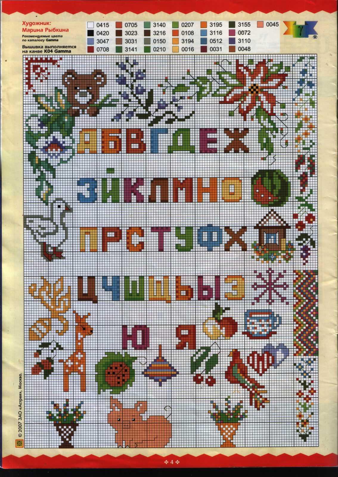 Схемы букв для вышивки крестом фото