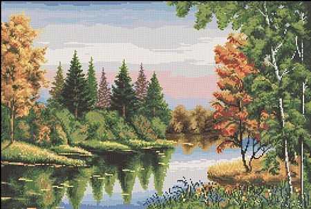 Схема пейзаж