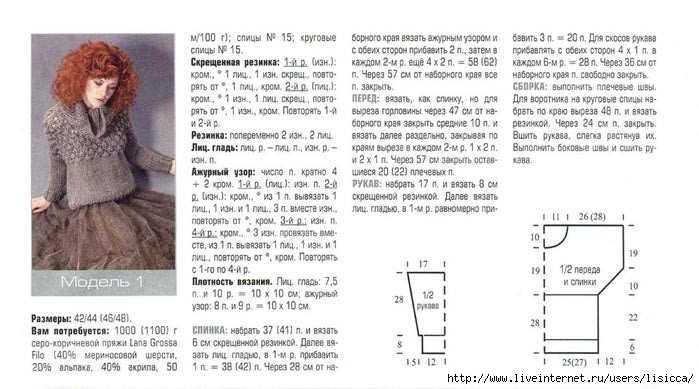 Схема вязания кардигана из толстой пряжи мериноса схема 59