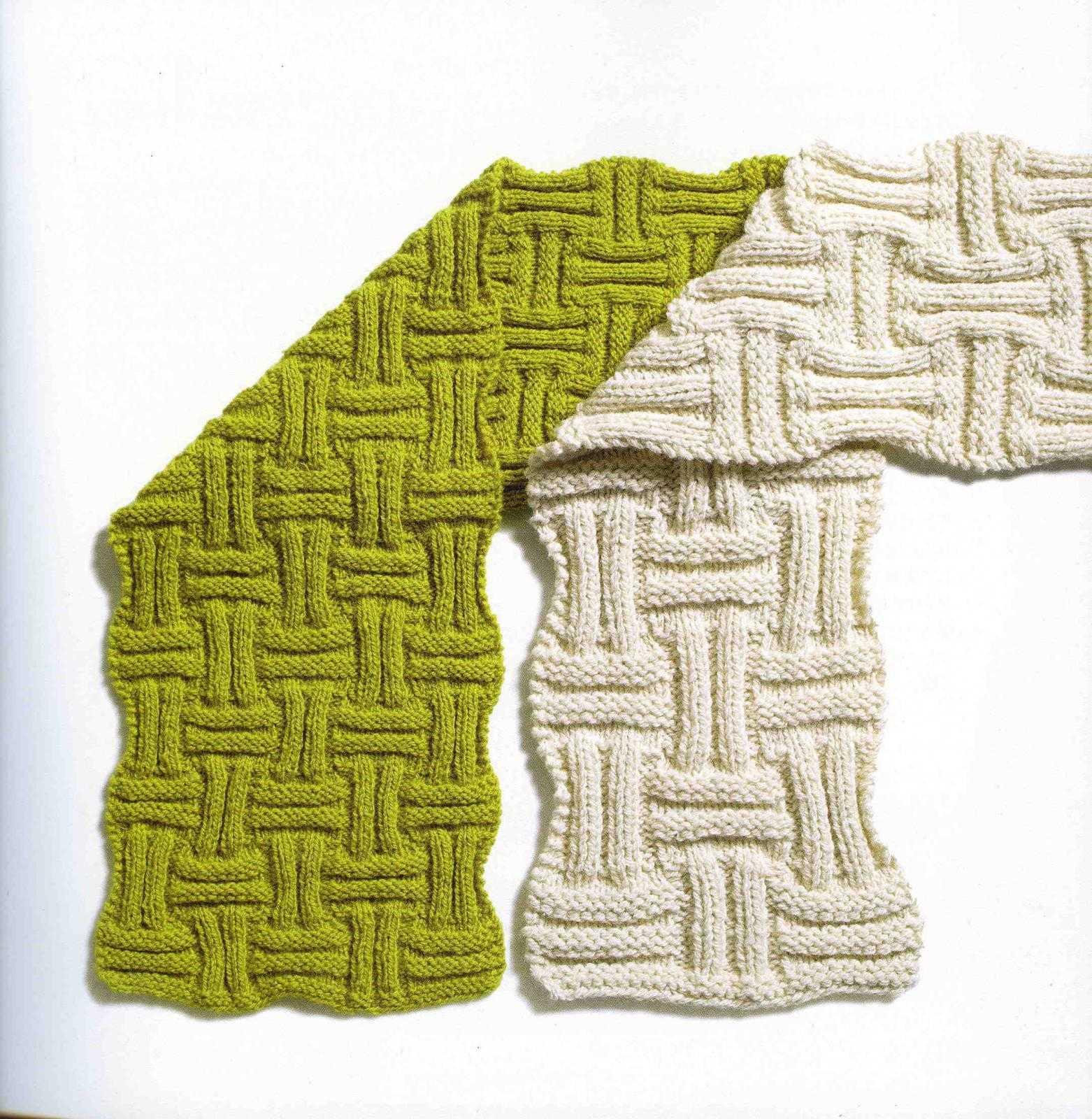 Узоры для вязания детского шарфика
