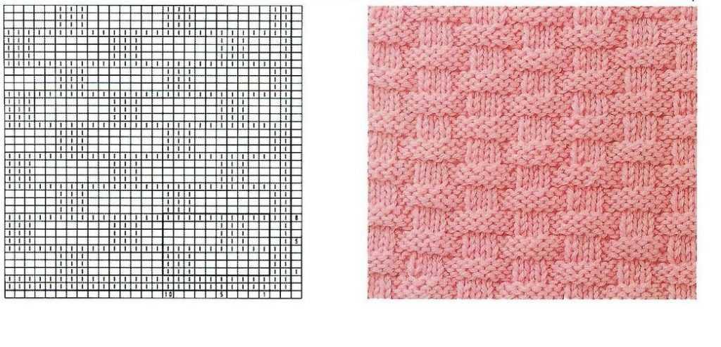 Вязание спицами узор плетёнка схема 86