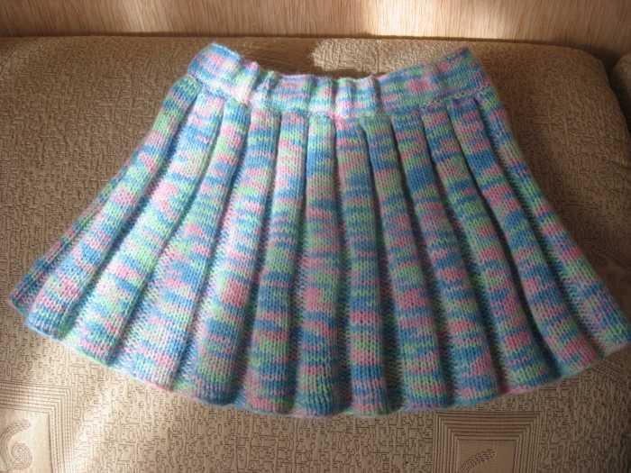 Пошив юбки-солнце