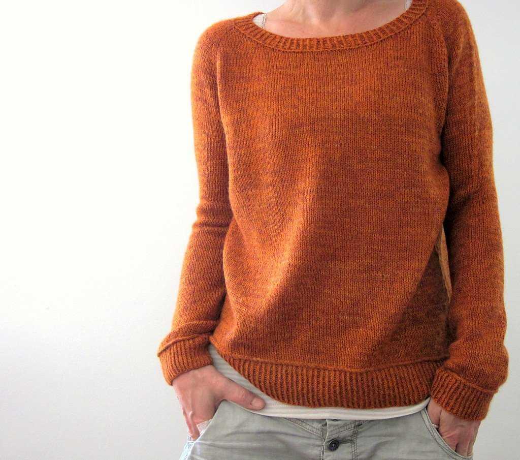 Простой способ вязания свитера