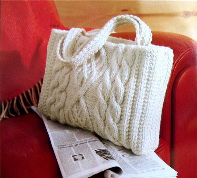 Вязанная сумочка своими руками 515
