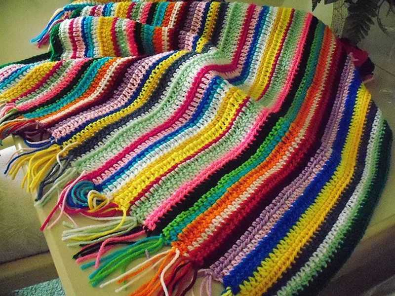 Поделки из остатков ниток для вязания