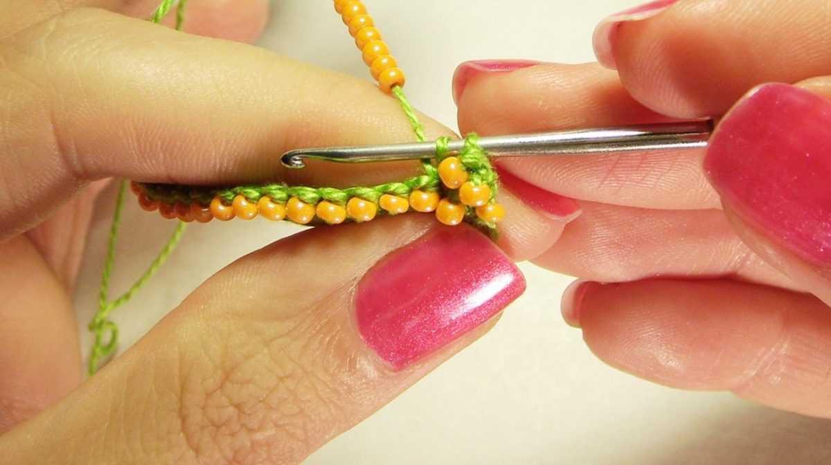 В контакте вязание с бисером 66