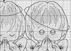 Схемы для вышивки три ангелочка 10