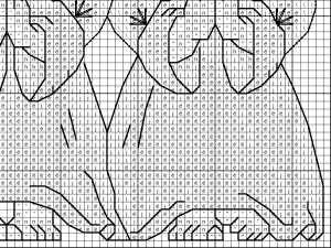 Схемы для вышивки три ангелочка 84