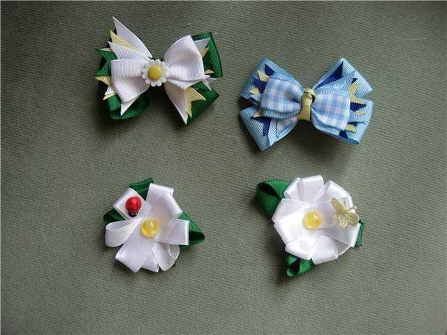 Цветы из ткани, крючком, своими руками, мастер классы