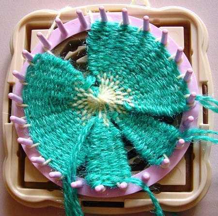 вязание на луме простых узоров и подборка красивых схем