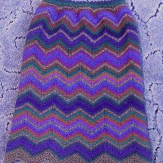 пошаговое описание платок спицами