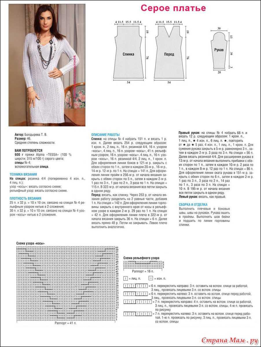 описание вязания в стиле энтерлак спицами