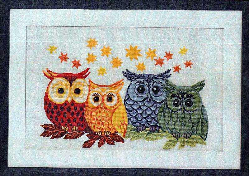 Значение совы в вышивке