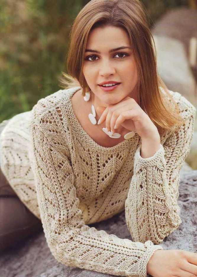 Вязание женские модели Вязание спицами, рукоделие Вязание свитеров спицами женские с описанием и
