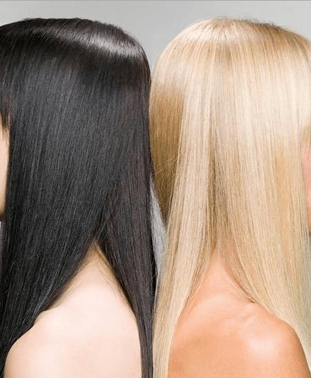 Восстановление волос после смывки