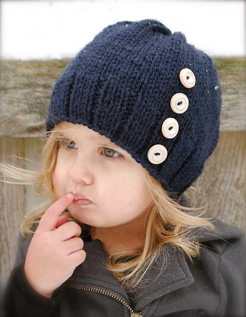 детские вязаные шапочки для девочек в схемах и видео уроках