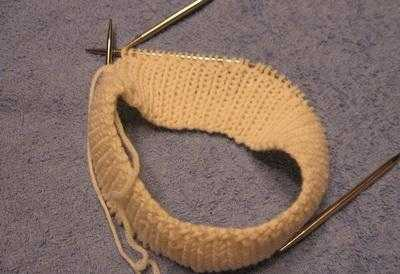 двойная резинка спицами техника вязания по схеме и видео