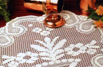 Филейное вязание крючком