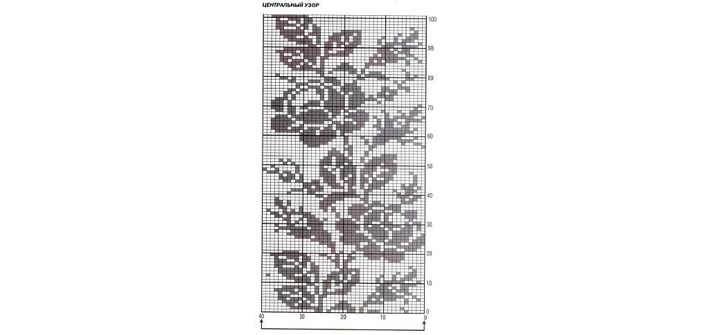 филейное вязание кофты вязание крючком