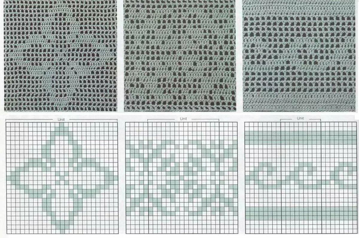 геометрические узоры схемы