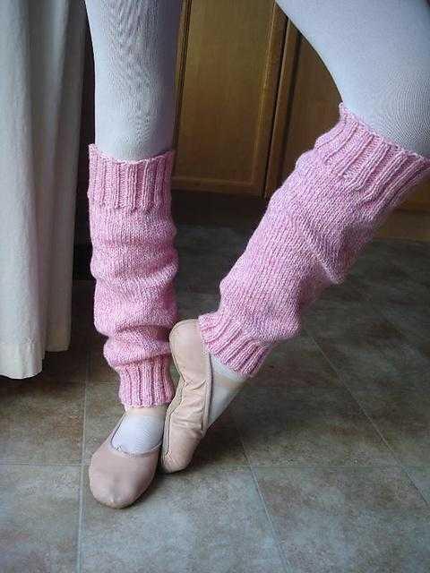 Вязание гетры танцы