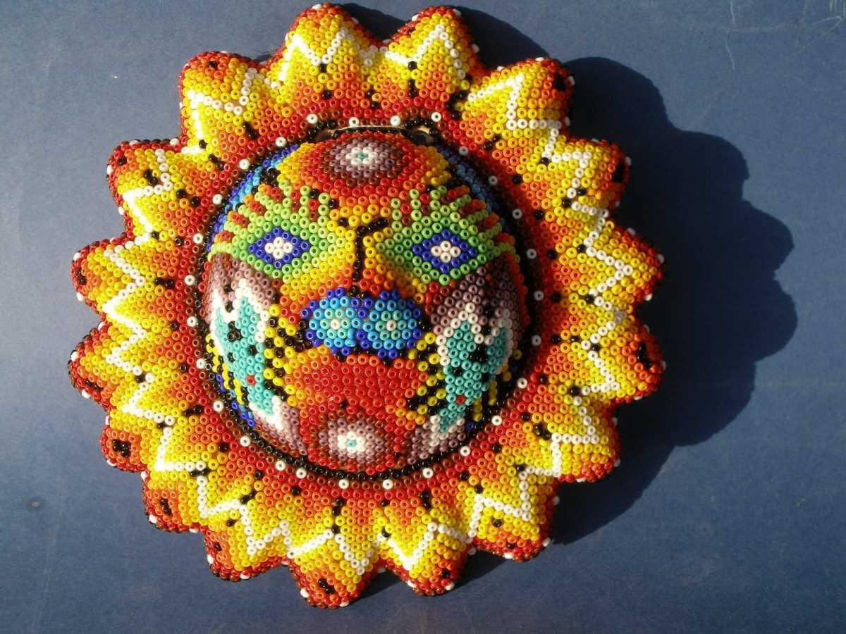 плетение из бисера для детей паук и схема плетения