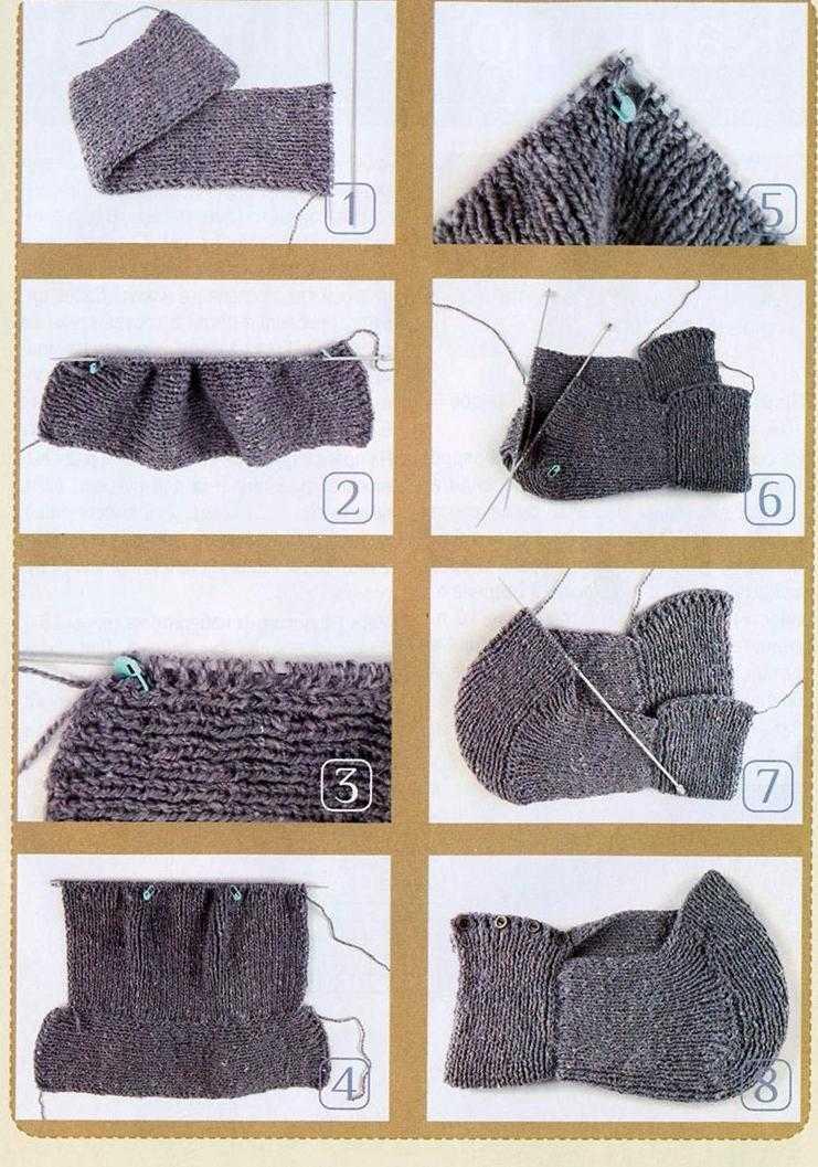 как связать капюшон спицами по схеме и выкройке