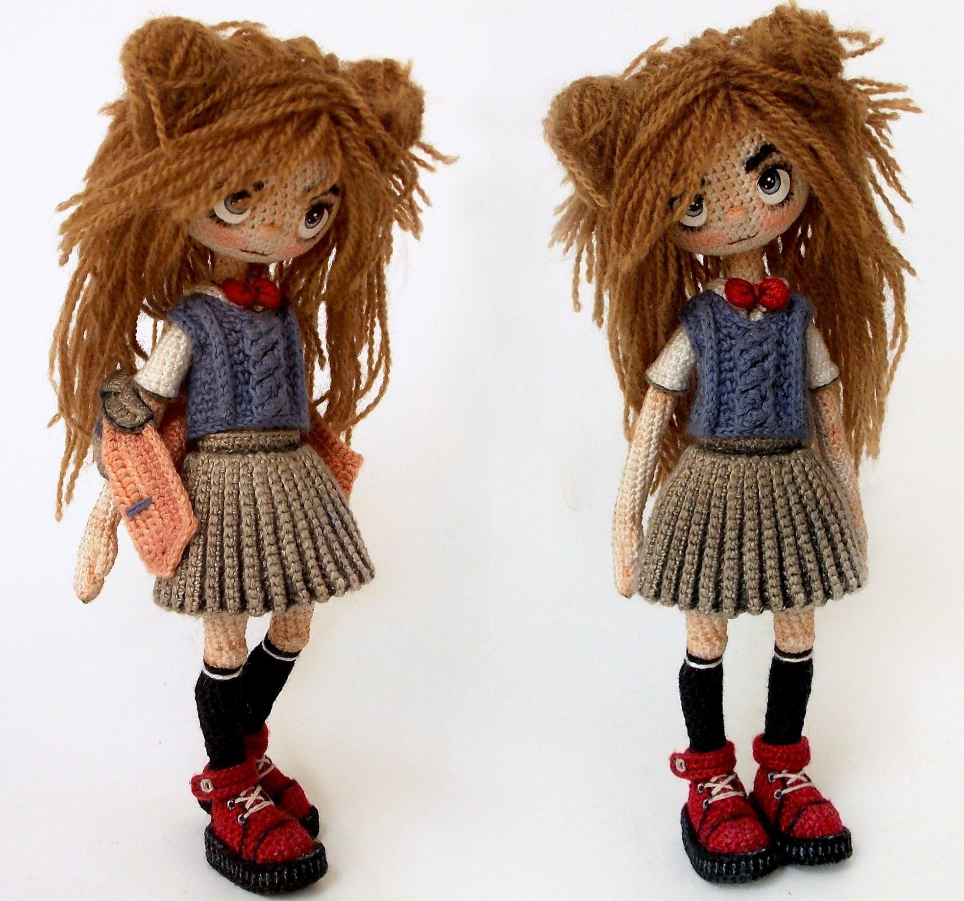 каркасные куклы амигуруми крючком