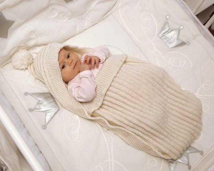 Одеяльце для новорожденного своими и руками