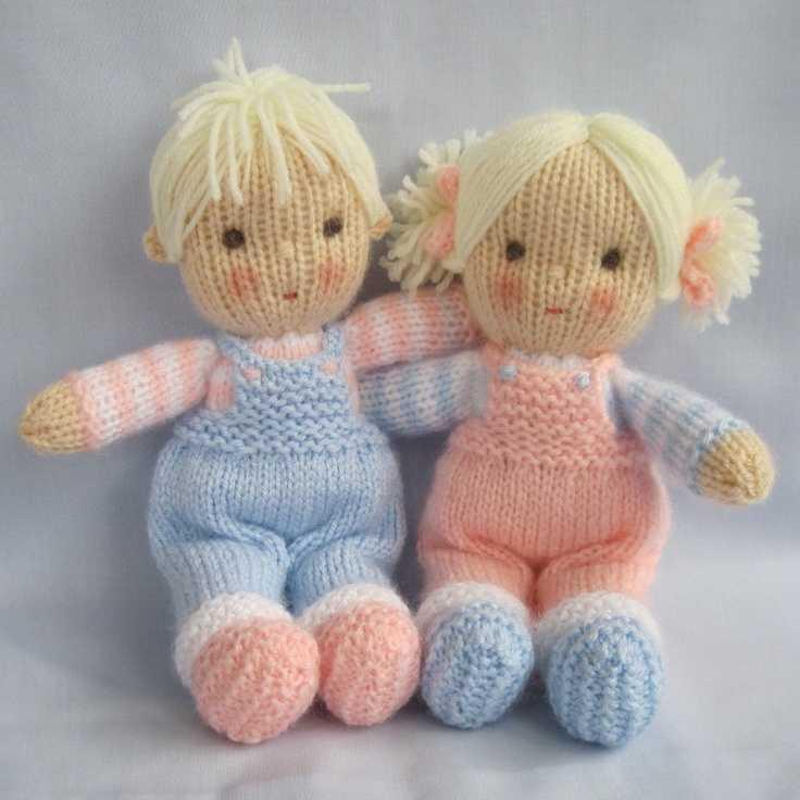 Вязаные куклы спицами: мастер-класс с пошаговыми фото