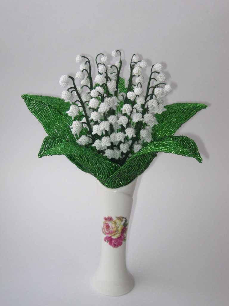 Бисероплетение лилии мастер класс пошаговое 10