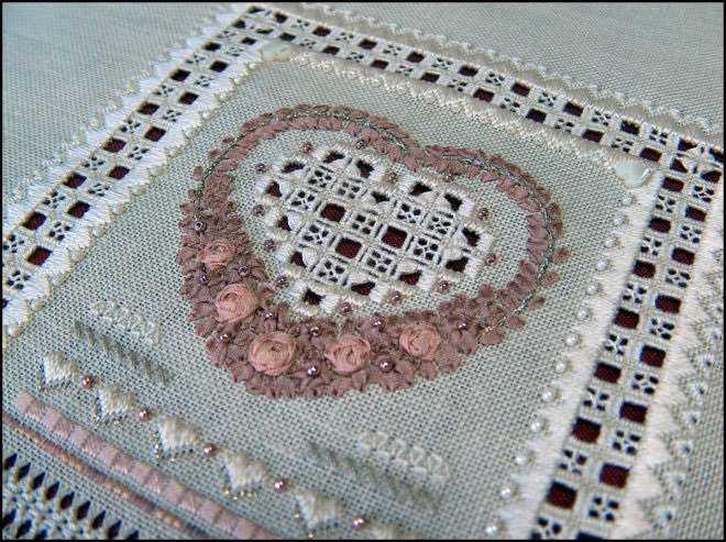 Мережки на вышивке с фото