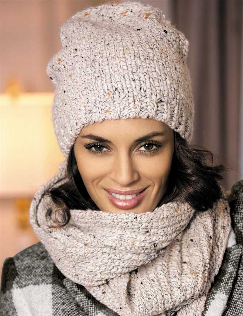 Схема вязания шапки для девушки фото 578