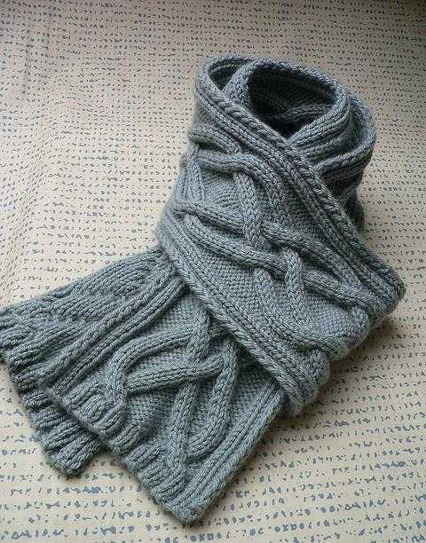mygckoy_charf_spicami_4 Как связать мужской шарф снуд спицами протектор и капюшон? Мужской шарф снуд спицами с описанием: схемы